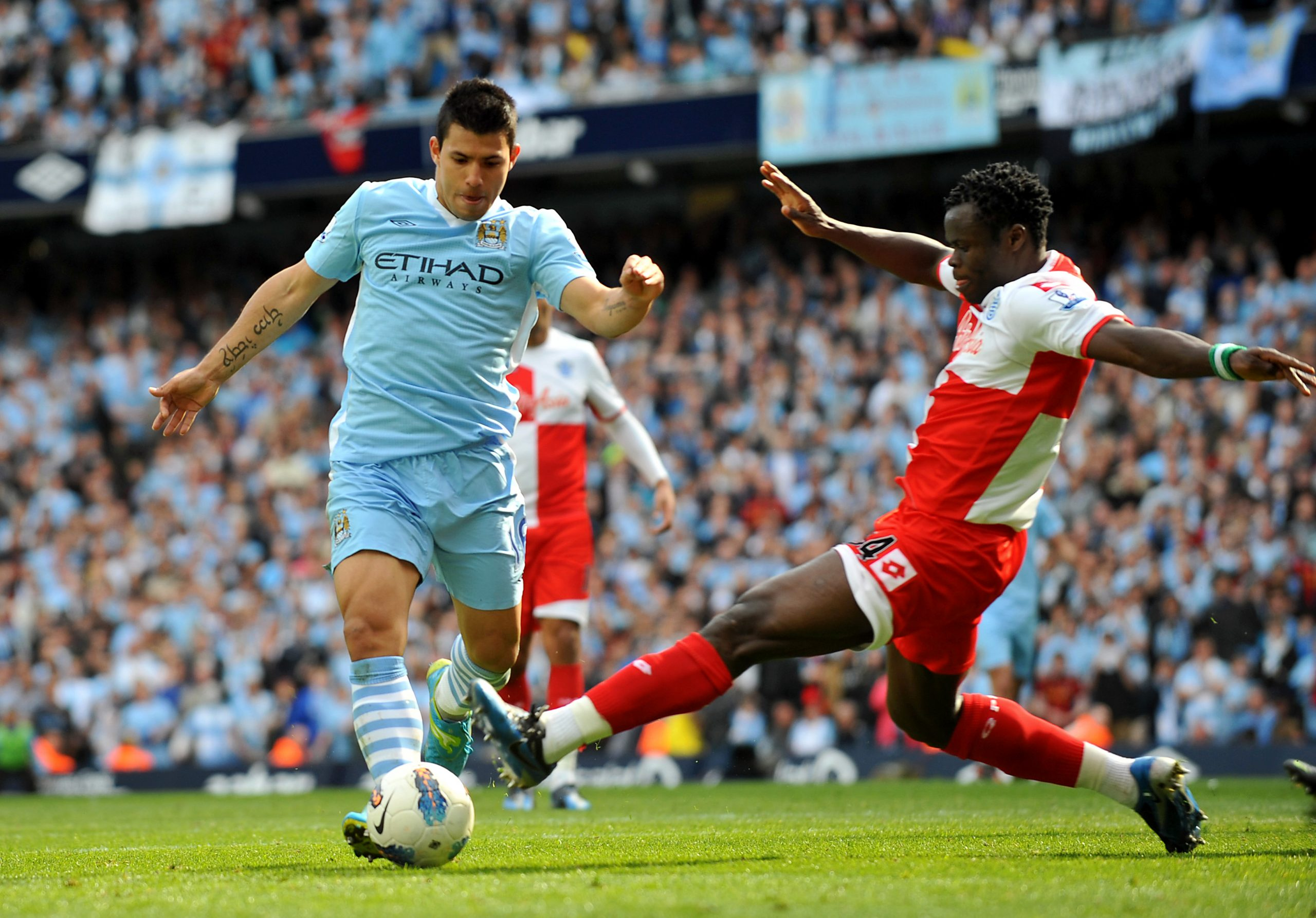 Taiwo: Man United Fans Accused Me Of Helping Man City Win 2012 EPL Title