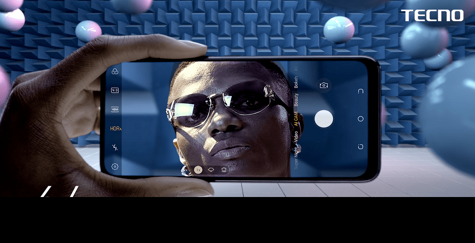 Magic Of Unseen: TECNO Launches SONY Chip Enhanced Camon 15 Series, Unveils Wizkid As Brand Ambassador