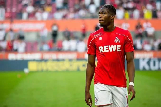 Ehizibue: My Family Proud I Chose To Play For Super Eagles,  Ready For Bundesliga Restart