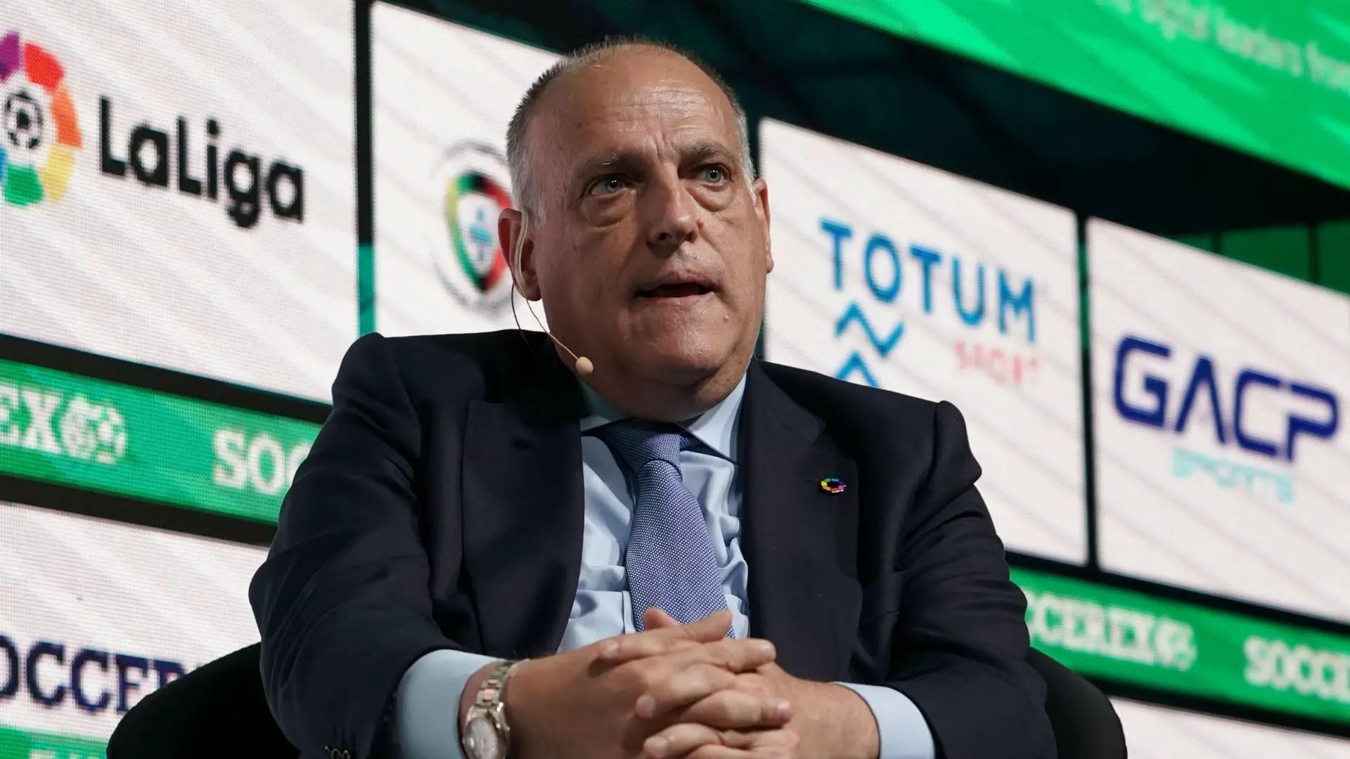 Laliga President Tebas Speaks On 2019/20 Season Restart Date, Safety Measures