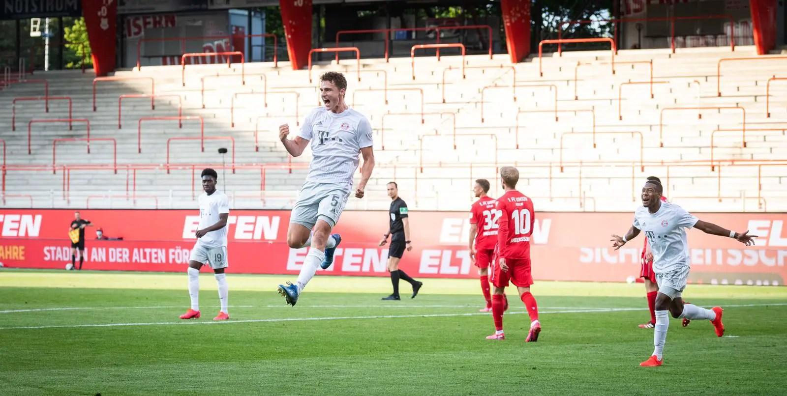 Bundesliga: Ujah In Action As Union Berlin Fall 2-0   Against Champions  Bayern Munich