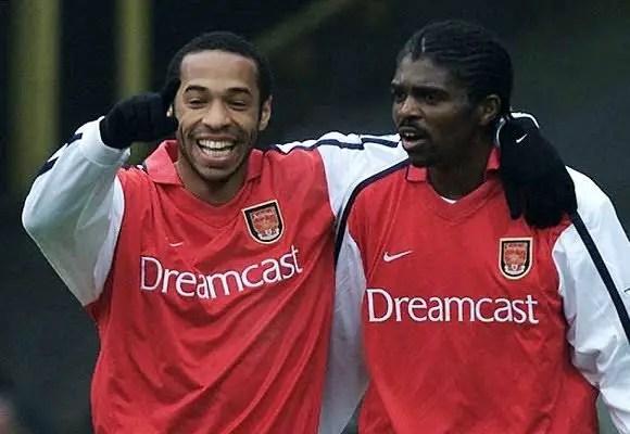 Henry: Kanu, Bergkamp Made Football Easy For Me At Arsenal