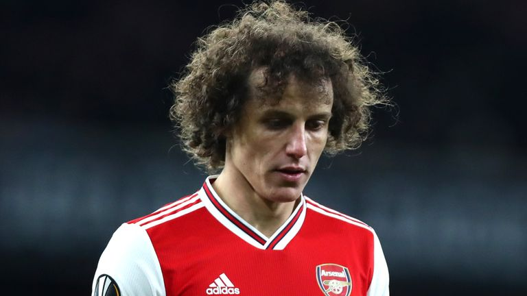 Agent Backs Luiz To Extend Arsenal Contract