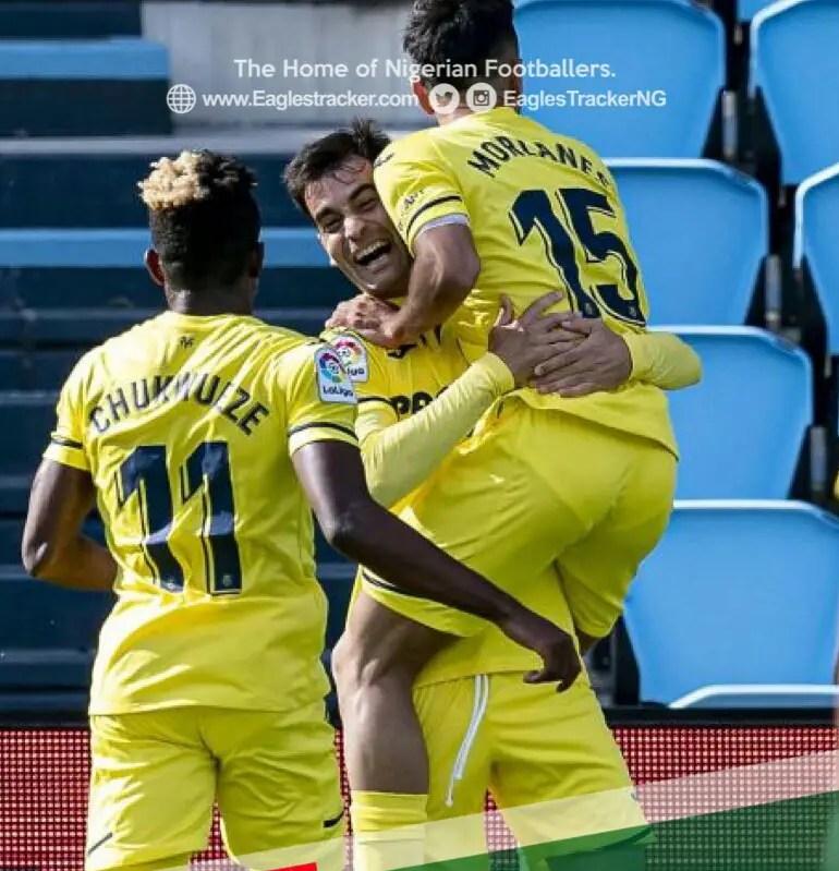 LaLiga: Chukwueze Stars As Villareal Secure Dramatic Away Win Vs Celta Vigo