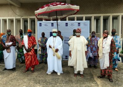 Photo of CACOVID Furthers Sensitization Campaign, Bags The Support Of Alake