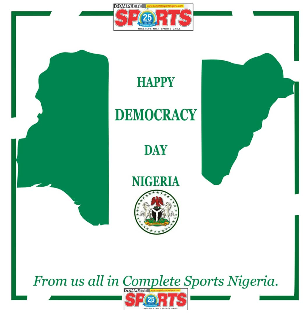 Happy Democracy Day From Complete Sports