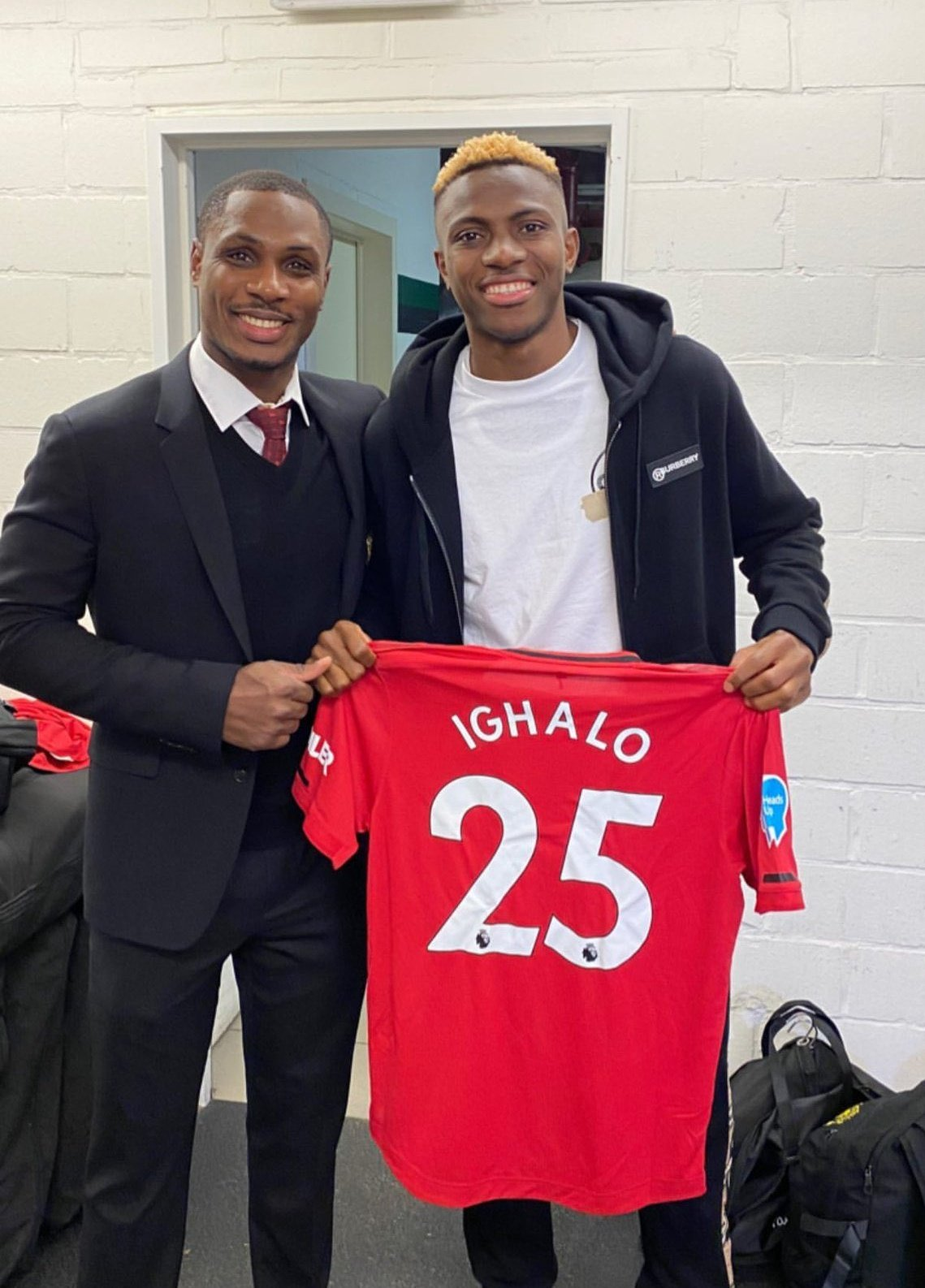 Osimhen: Ighalo Free To Make Super Eagles Return