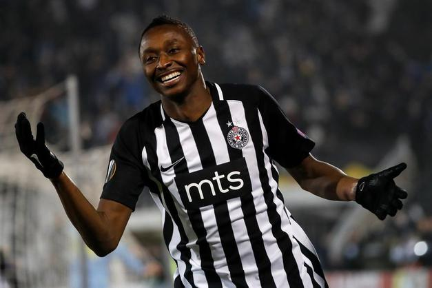 Serbian Fans Go Wild As Sadiq's  Silky Assist Helps Partizan Into Cup Final