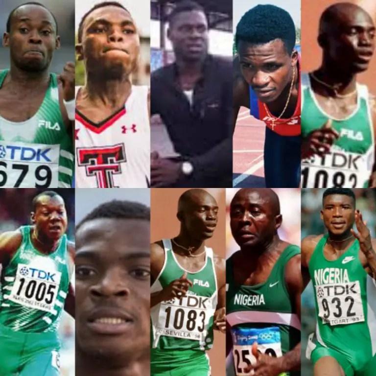 Top 10 Fastest Men In Nigeria's Sprint History!
