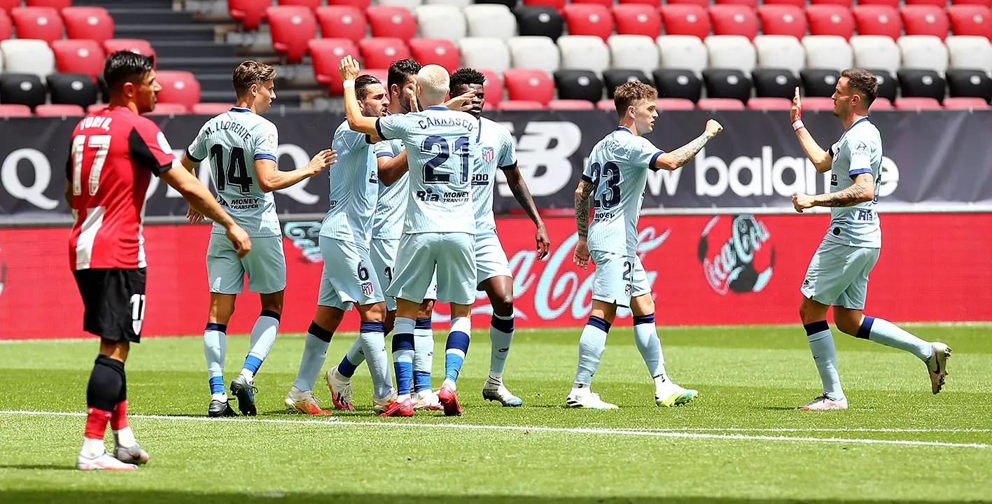 Laliga: Atletico Madrid Set New Club Record In Draw At Bilbao