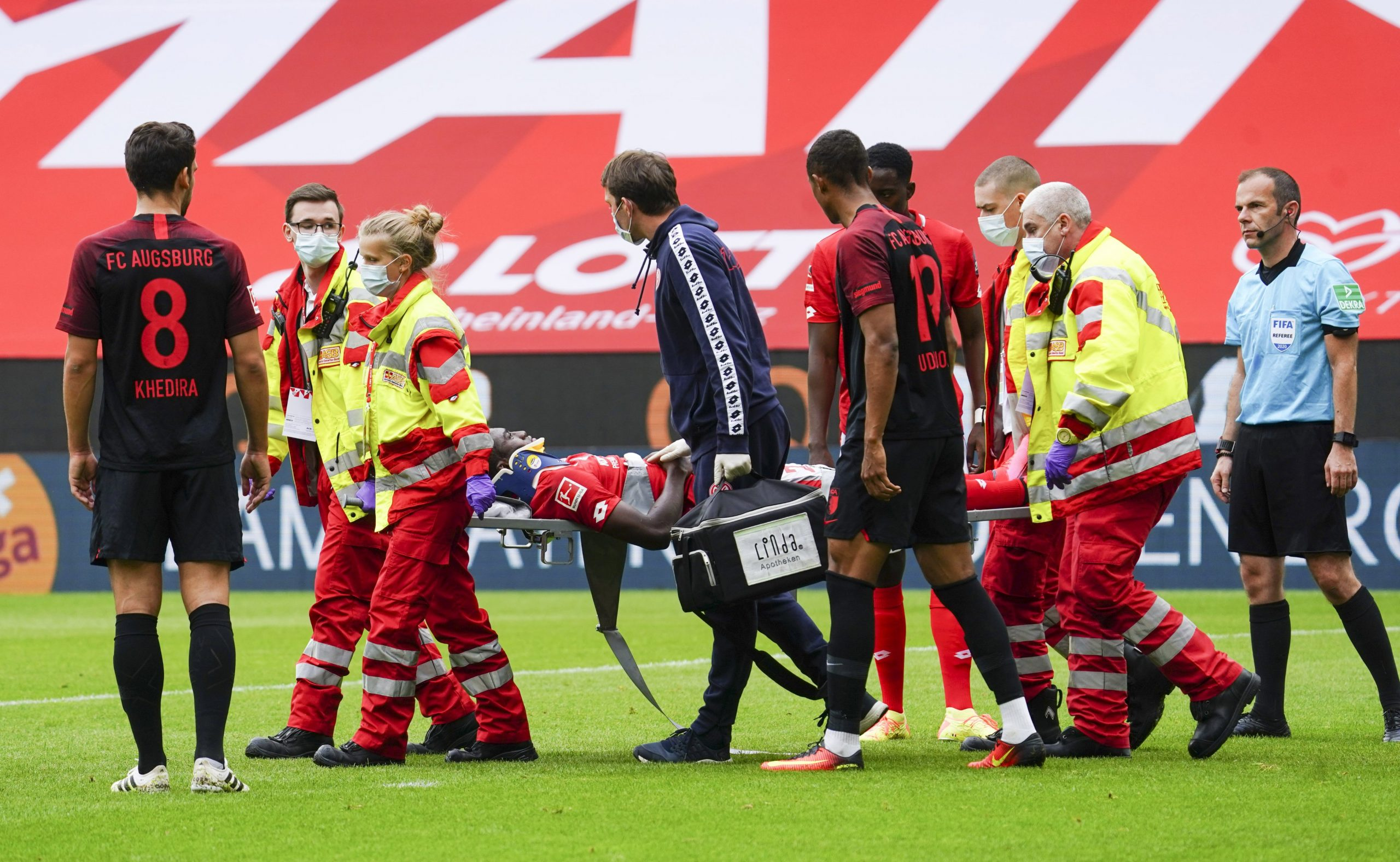 Photo of Mainz: Awoniyi Suffered Concussion Vs Augsburg, To Spend Night In Hospital – Complete Sports