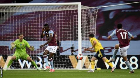 Premier League: Aston Villa Stun Arsenal To Boost Survival Hopes; Success, Dele-Bashiru Still Out As Man City Hammer Relegation Threatened Watford