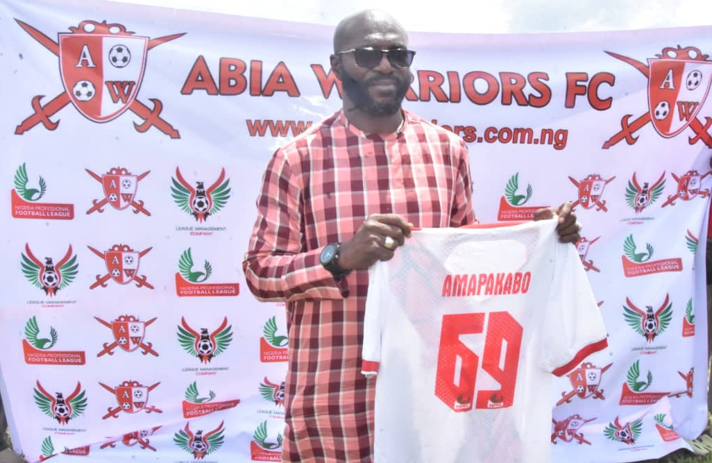 Abia Warriors Unveil Amapakabo As New Head Coach