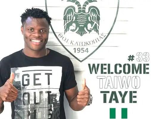 Taye Taiwo Joins Cypriot Club Doxa Katokopias