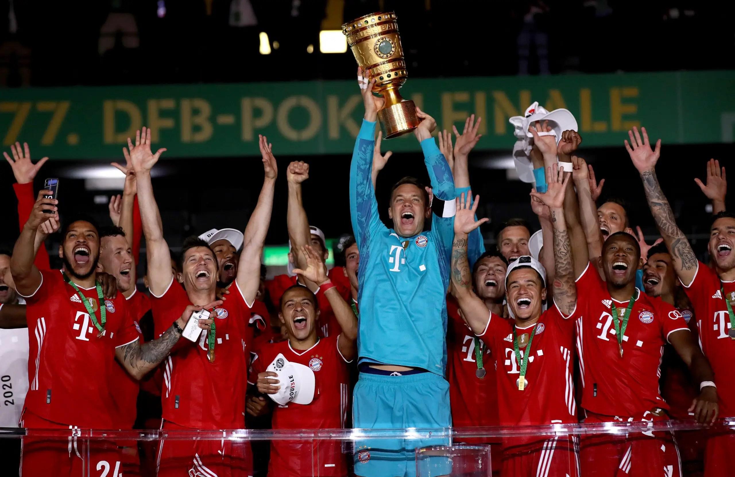Bayern Munich Beat Leverkusen To Claim Record DFB-Pokal Title
