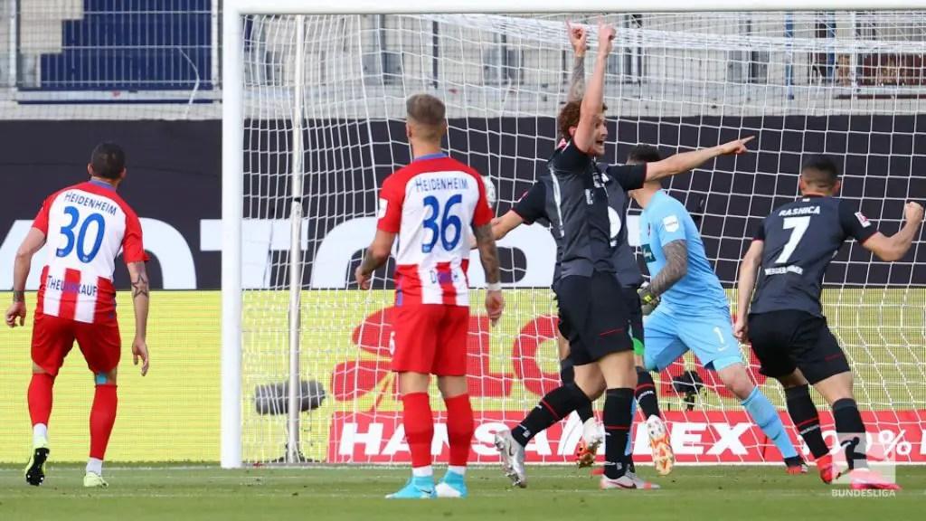 Werder Bremen Retain Bundesliga Status; Pip Heidenheim On Away Goals Rule In Relegation Playoff 2nd Leg