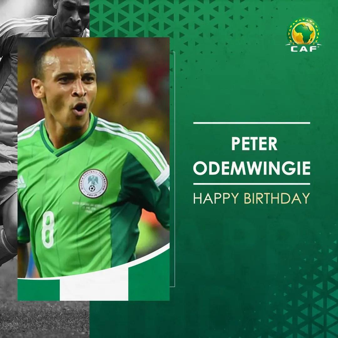 CAF, FIFA Send Birthday Wishes To Odemwingie, Uwak