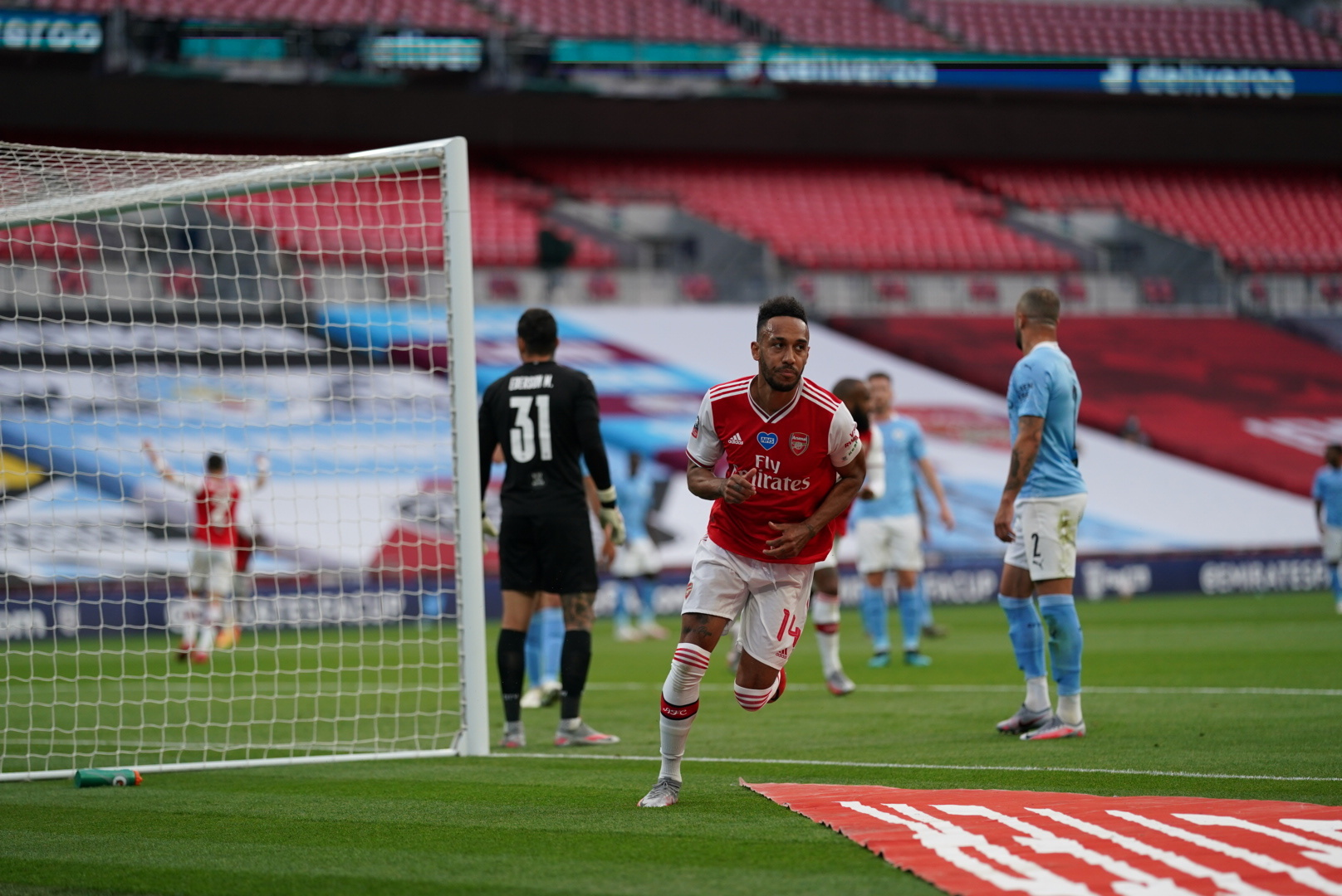 Arsenal Beat Manchester City To Reach FA Cup Final