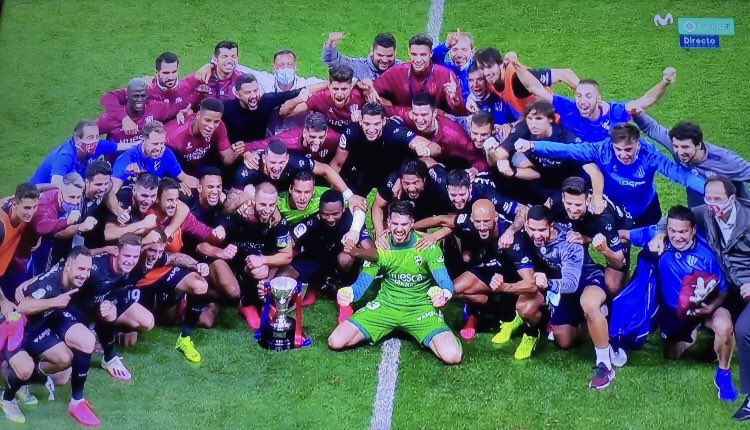 Nwakali Relishes Huesca's LaLiga Two Success