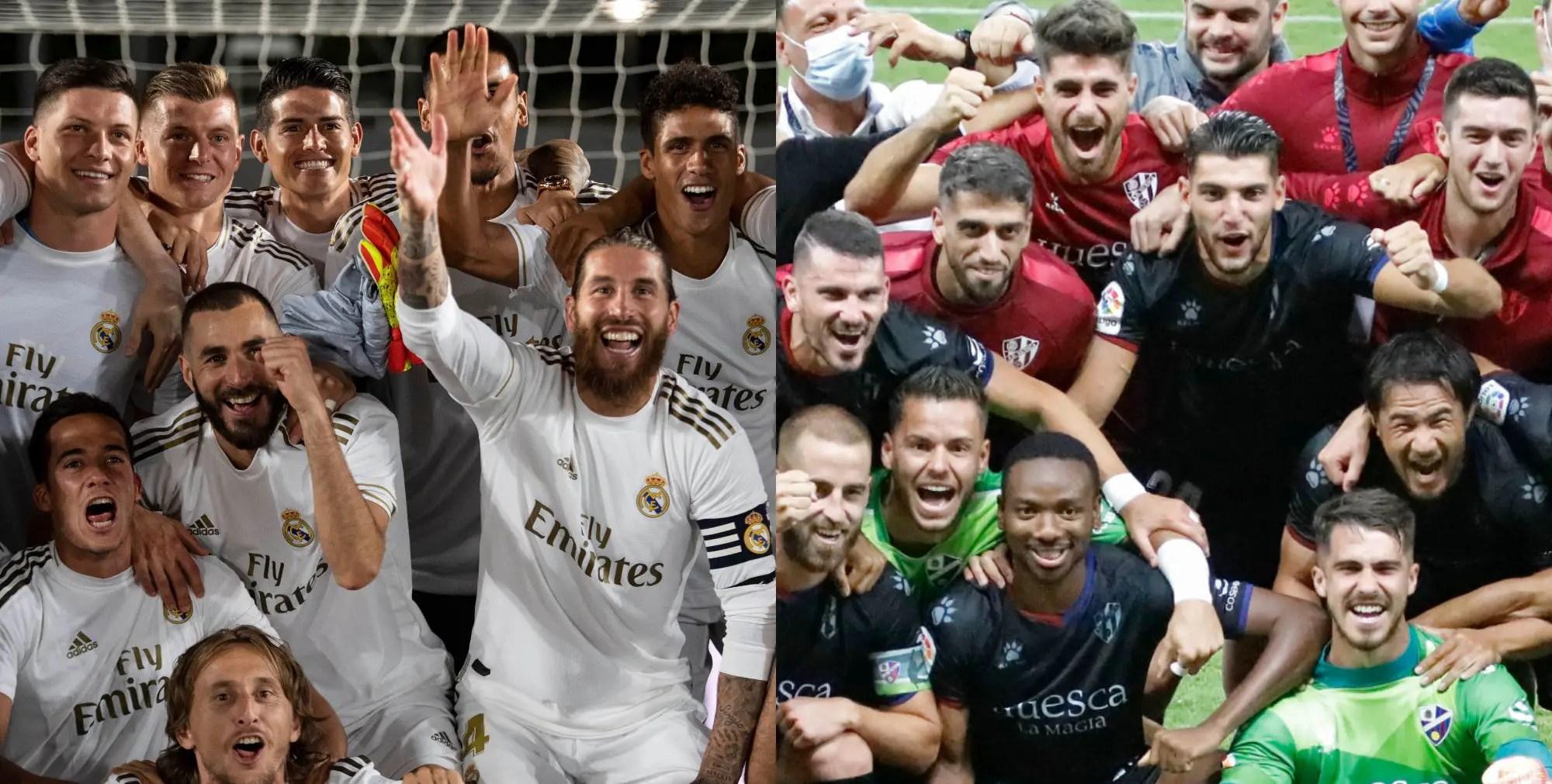 LaLiga Congratulates Nwakali's Huesca, Real Madrid For League Title Wins