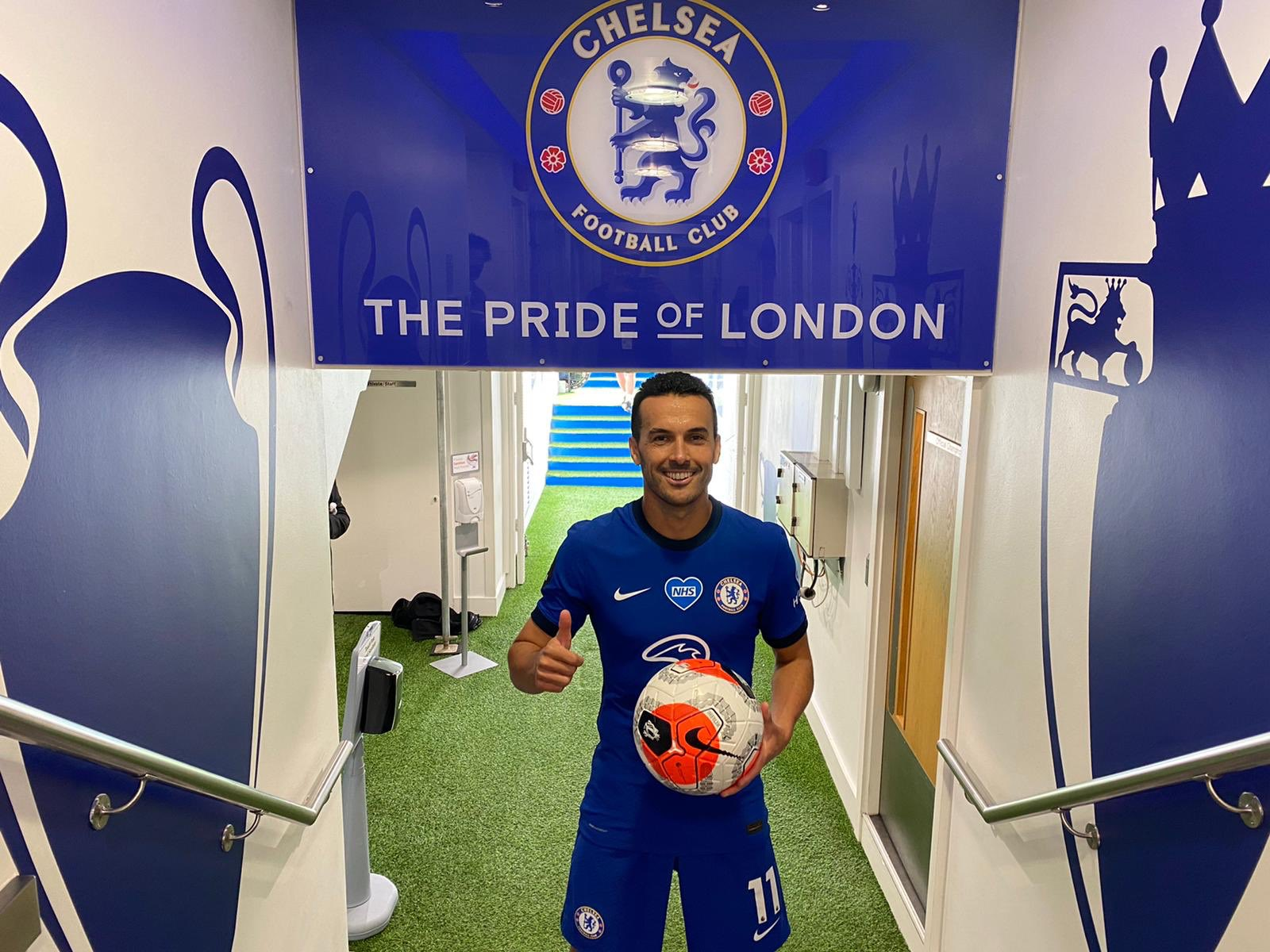 Pedro Says Goodbye To Chelsea Fans Ahead Of Roma Transfer