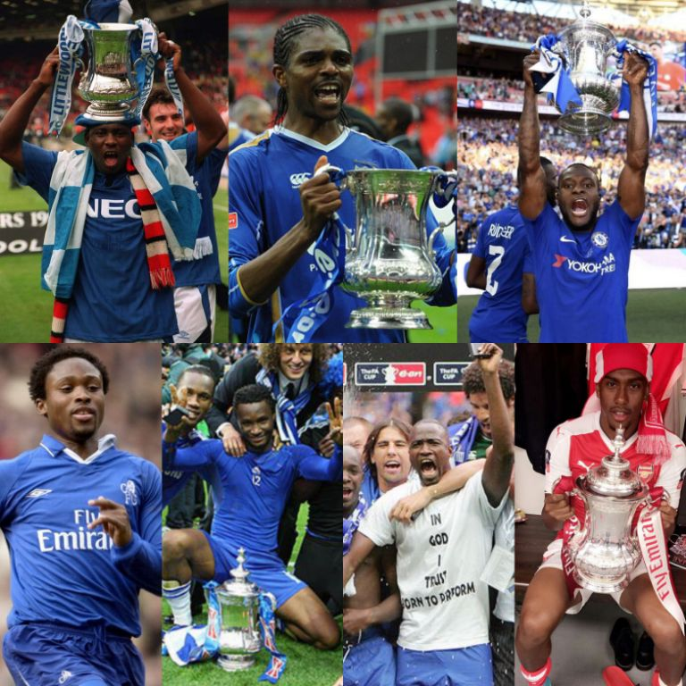 7 Nigerian Players Who Have Won English FA Cup Title