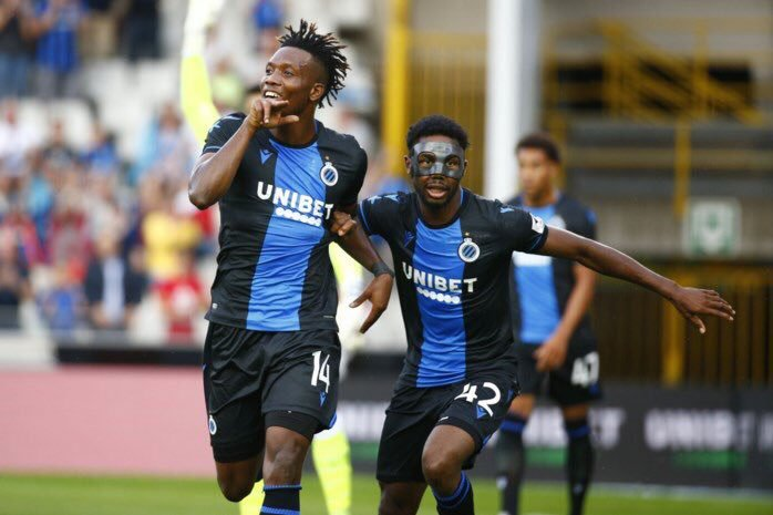 Dennis, Okereke Named In Club Brugge's Squad For Belgian Cup Final Vs Antwerp