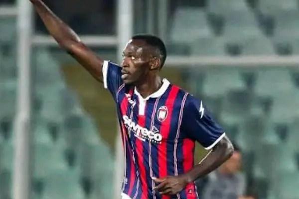 Update: Nwankwo Bags Brace As Crotone Thrash Livorno, Win Promotion To Serie A