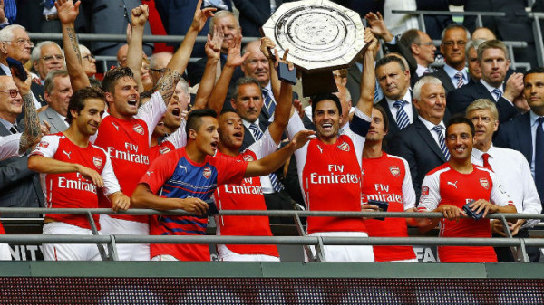 Arsenal Lined Up For Community Shield Regardless Of FA Cup Semi-Final Outcome Vs Man City