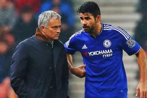 Ex-Chelsea Striker Costa Set To Reunite With Mourinho At Spurs