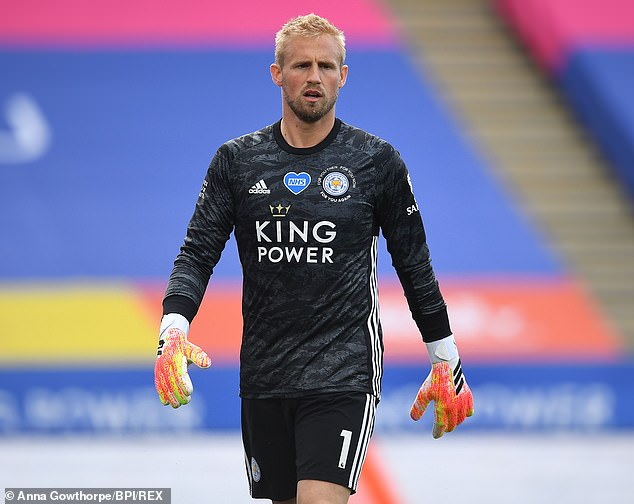Manchester United Target Schmeichel As Replacement For De Gea