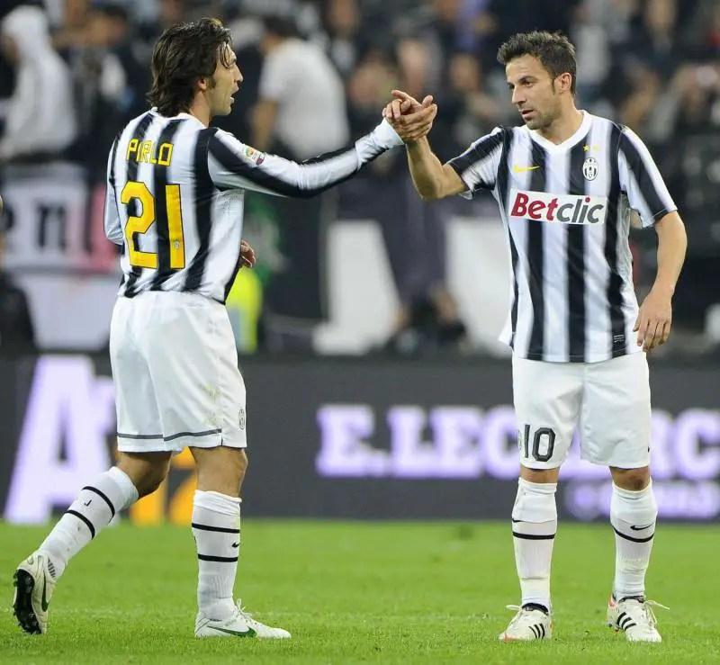 Juve Legend Del Piero Backs Pirlo To Perform Better Than Zidane