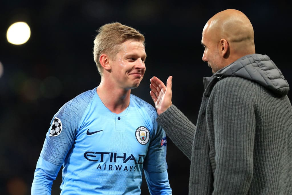 Man City Star's Fiancee Blames Guardiola For UCL Defeat To Lyon