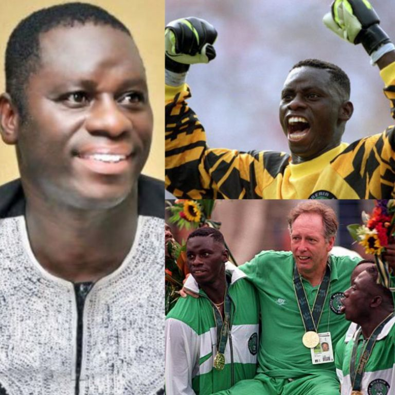 INTERVIEW: Dosu Relives Atlanta'96 Olympics Glory: I'm Happy My Name Is Written In Gold In Nigerian Football'