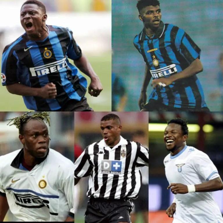 Top 5 Nigerian Footballers In Serie A History
