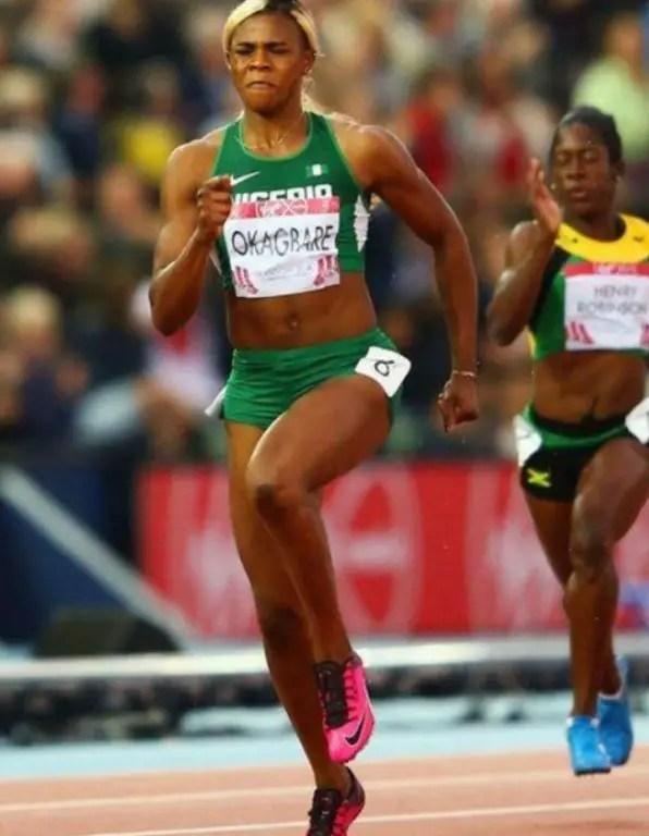 Okagbare Talks Up Medal Dream At 2008 Olympics; Still Expects 'Lucky' Silver