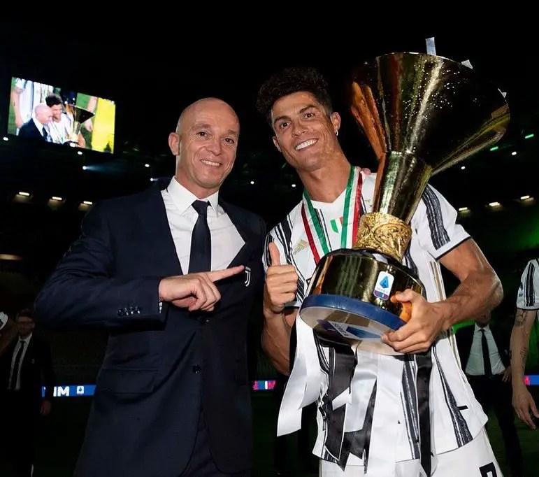 Juventus Chief Agnelli  Dismisses Ronaldo Exit Talk
