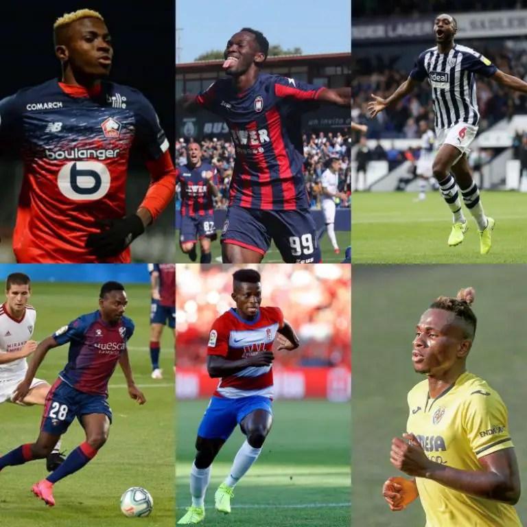 Nigerian Players' Scorecard For 2019/20 Season