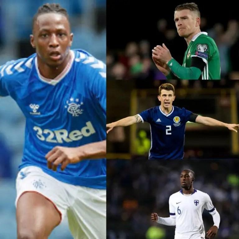 Aribo Happy Learning From  Northern Ireland, Scotland, Finland Midfielders