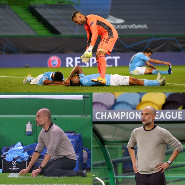 Champions League: Guardiola Urges Man City 'To Stand Up', Fight Again Next Season