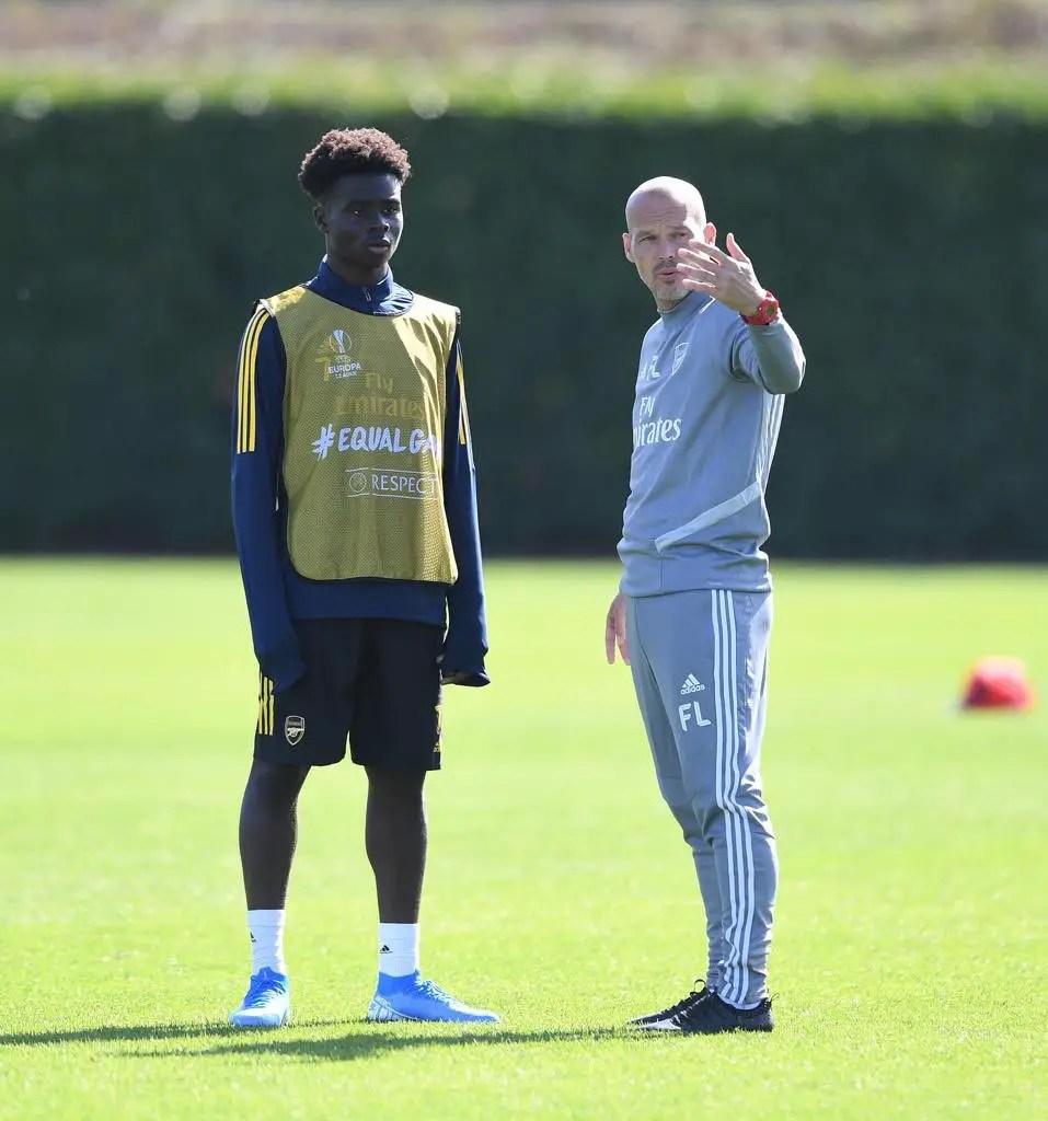 Saka Pays Tribute To Ljungberg Following Arsenal  Exit
