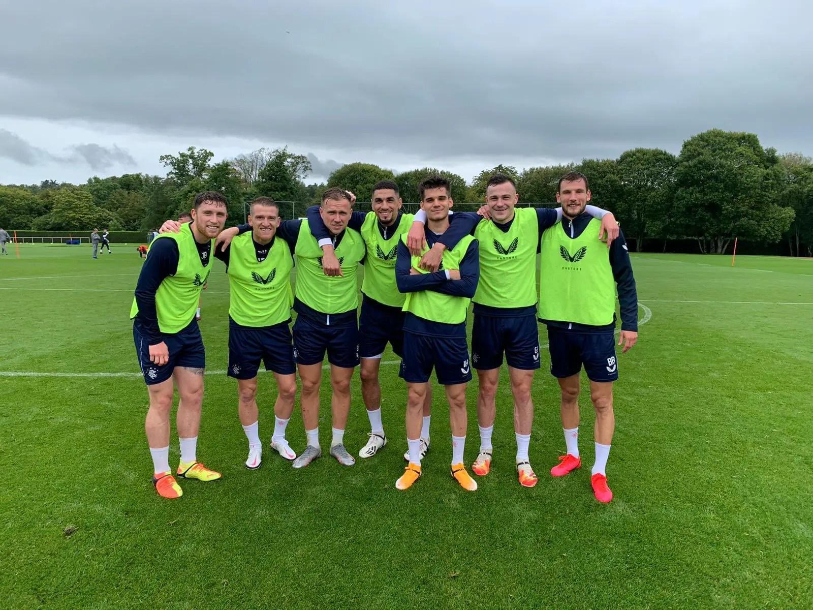 Rangers Get Boost As Balogun Returns To Training