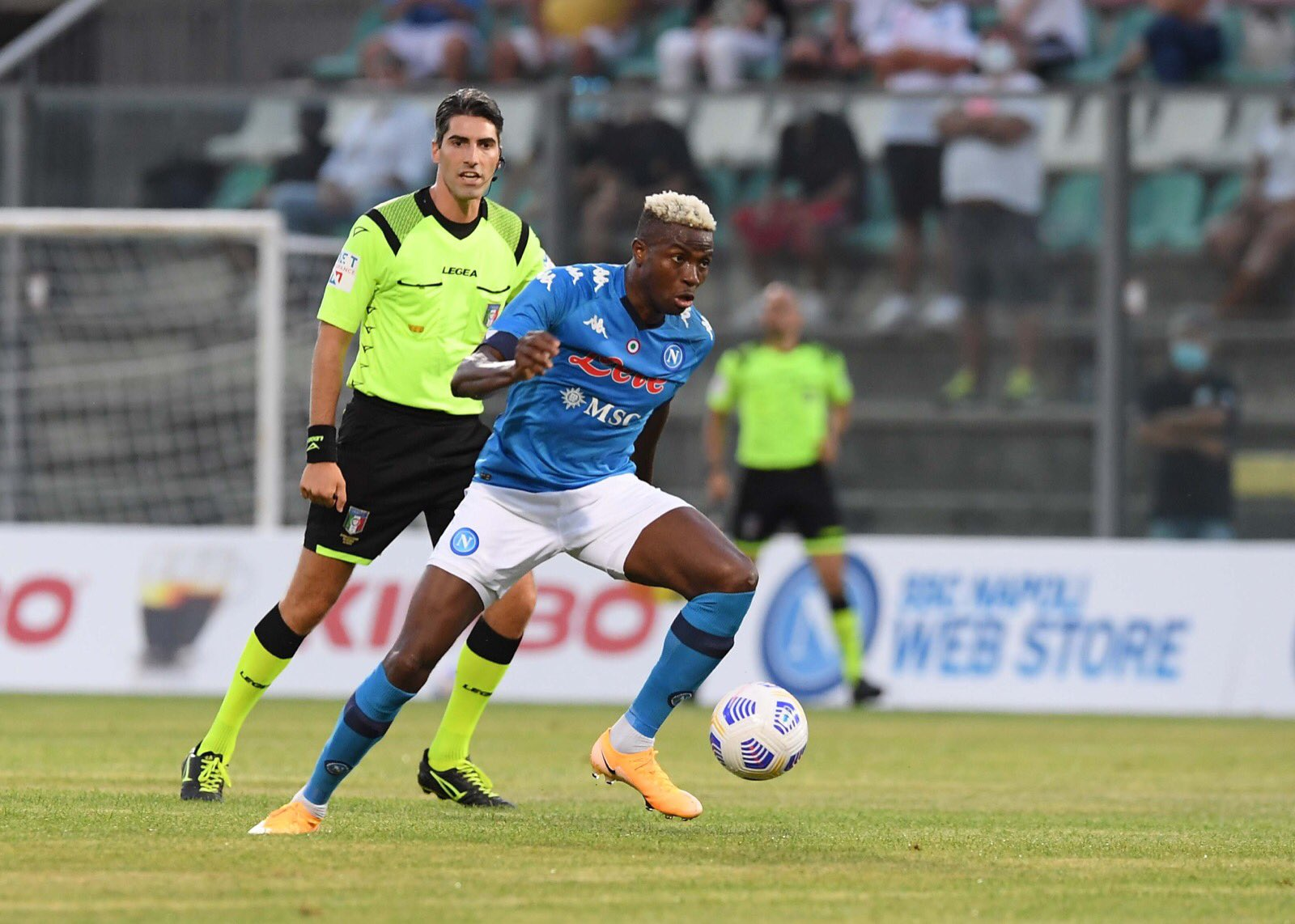 Pre-season: Osimhen Bags Hat-trick, Assist As Napoli Humilate Opponent 11-0