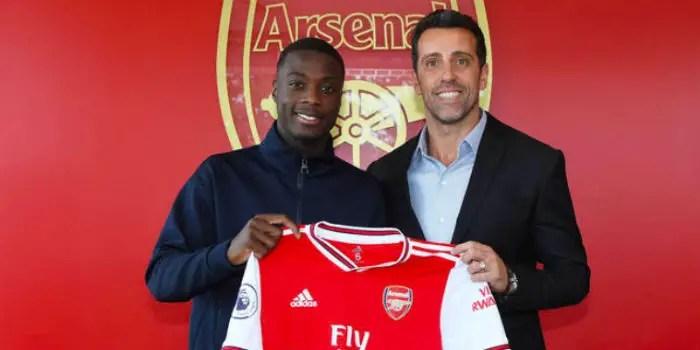 Arsenal Launch Investigation Into Pepe's £72m Record Transfer Fee