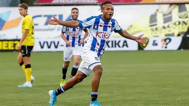Ejuke On Target In Heerenveen's Defeat Vs Vitesse In Friendly Match