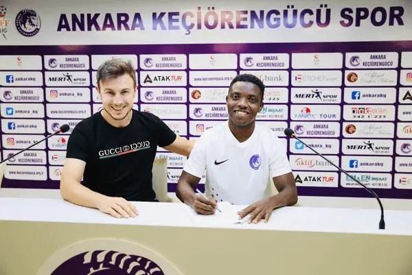 Nigerian Starlet Joins Turkish Club