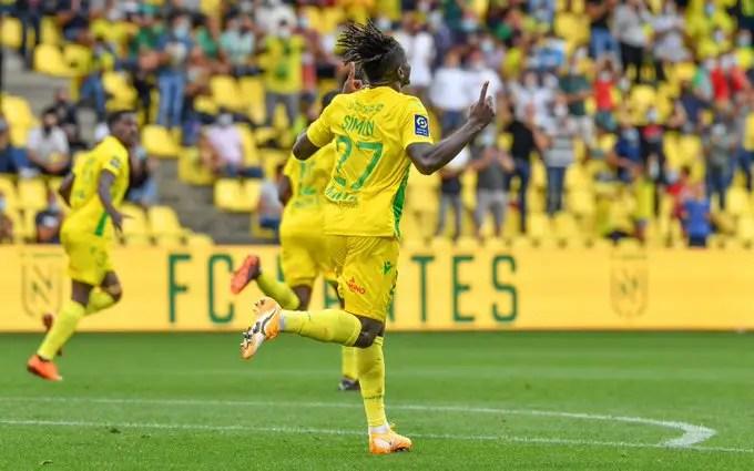 Ligue 1: Simon Rues Nantes Home Draw Vs Saint-Etienne
