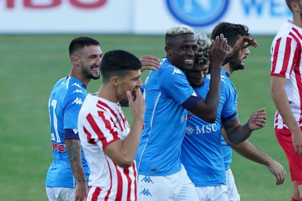 Gattuso: Osimhen Must Keep Working Hard Despite Good Start At Napoli