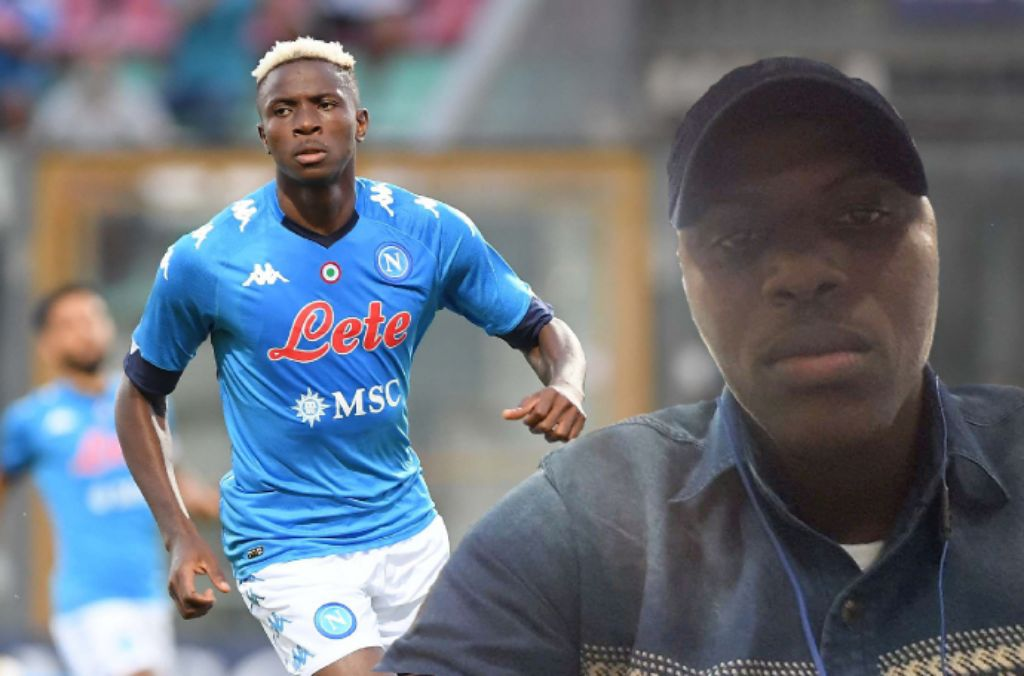 INTERVIEW – Osimhen! How Poor Boy Became Rich 'Baller'; All About Nigeria Striker's Napoli Switch   –Brother, Andrew