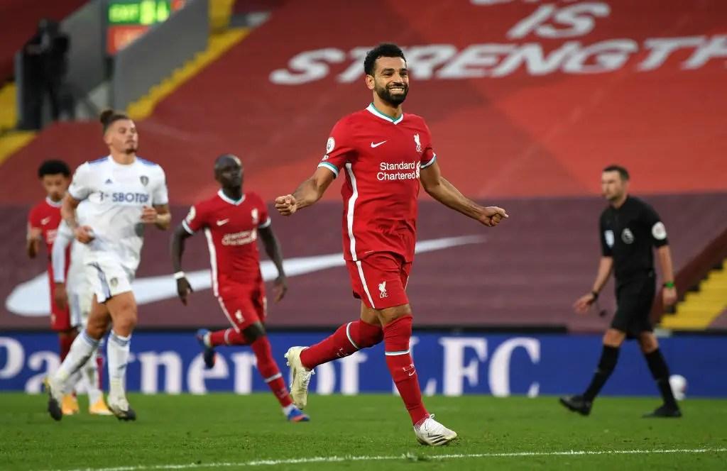 Premier League: Salah Bags Hat-trick As Liverpool Edge Leeds In Seven-Goal Thriller